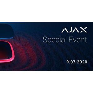 Узнайте первыми о новинках Ajax Systems!