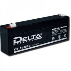 Аккумуляторная батарея Delta DT 12022 (12V/2,2Ah)
