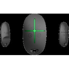 Брелок с тревожной кнопкой Ajax SpaceControl (черный)