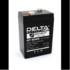 Аккумуляторная батарея Delta DT 6045 (6V/4,5Ah)