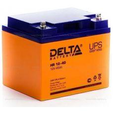 Аккумуляторная батарея Delta HR 12-40 (12V / 45Ah)