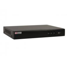 Гибридный видеорегистратор HiWatch DS-H324/2Q 24-канальный + 2 IP-канала (до 26 с замещением)
