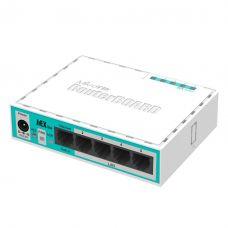 Маршрутизатор MikroTik hEX lite(RВ750r2), 5x100Mb