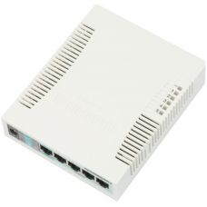 Коммутатор Mikrotik RB260GS, 5x1Gb, 1xSFP
