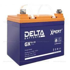 Аккумуляторная батарея Delta GX 12-33 xpert (12V / 33Ah)