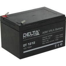 Аккумуляторная батарея Delta DT 1212  (12V / 12Ah)