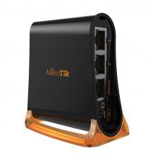 Беспроводной маршрутизатор Mikrotik hAP mini (RB931-2nD) 3x100Mb, 2.4GHz