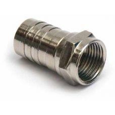 Разъем для коаксиального кабеля RG6 (Crimp)