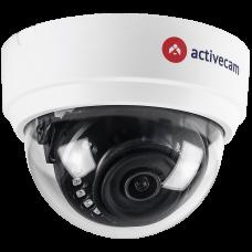 Мультиформатная AHD, HD-TVI, HD-CVI, CVBS мини-камера ActiveCam AC-H2D1, 2Мп, 2.8 мм