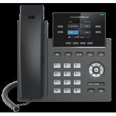Телефон IP Grandstream GRP2612P - IP телефон (PoE, блок питания не входит в комплект). 2 SIP