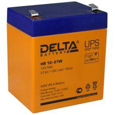 Аккумуляторная батарея Delta HR 12-21 W