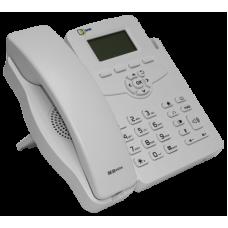 Телефонный аппарат для проводных сетей связи SNR-VP-51 без БП, поддержка PoE, белый цвет