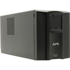 ИБП APC SMC1000I Smart-UPS SC, Line-Interactive, 1000VA / 600W, Tower, IEC, LCD, USB