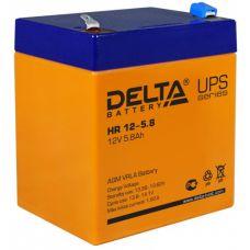 Аккумуляторная батарея Delta HR 12-5.8 (12V / 5.8Ah)