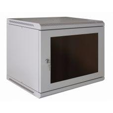 """Корпус шкафа настенного разборного МиК 19"""" серии Basis 9U 500*600*450 (В*Ш*Г)"""