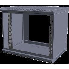 "Корпус шкафа настенного разборного МиК 19"" серии Basis 9U 500*600*350 (В*Ш*Г) RAL 9005"
