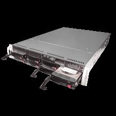 Сетевой видеорегистратор TRASSIR NeuroStation на TRASSIR OS с нейросетевыми модулями, 128-каналов