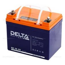 Аккумуляторная батарея Delta GX 12-33 (12V / 33Ah)