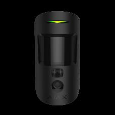 Датчик движения с фотокамерой для верификации тревог Ajax MotionCam (черный)
