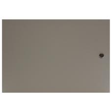 """Дверь металл для шкафа настенного  МиК 19"""" 6U"""