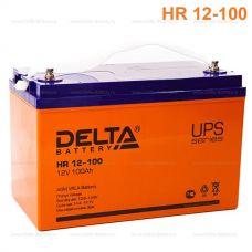 Аккумуляторная батарея Delta HR 12-100 (12V / 100Ah)