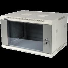 Шкаф 9U настенный со стеклянной дверью, 600*450