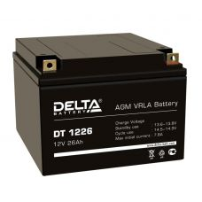 Аккумуляторная батарея Delta DT 1226  (12V / 26Ah)