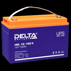 Аккумуляторная батарея Delta HRL 12-100 (12V / 100Ah)