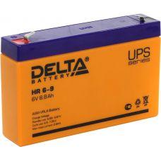 Аккумуляторная батарея Delta HR 6-9 (6V / 9Ah)