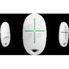 Брелок с тревожной кнопкой Ajax SpaceControl (белый)