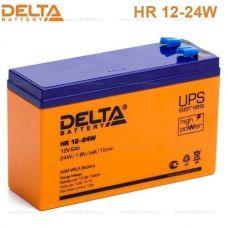 Аккумуляторная батарея Delta HR 12-24 W