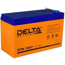 Аккумуляторная батарея Delta DTM 1207 (12V/7.2Ah)