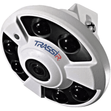 IP-камера FishEye TRASSIR TR-D9141IR2, 4Мп, 1.4mm