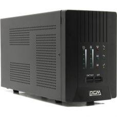 ИБП SPT-1000 Powercom VA, линейно-интерактивный, 1000 ВA, 700 Вт, 8 розеток IEC320 C13 с резервным п